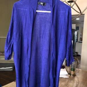 Blue Mossimo Cardigan size medium